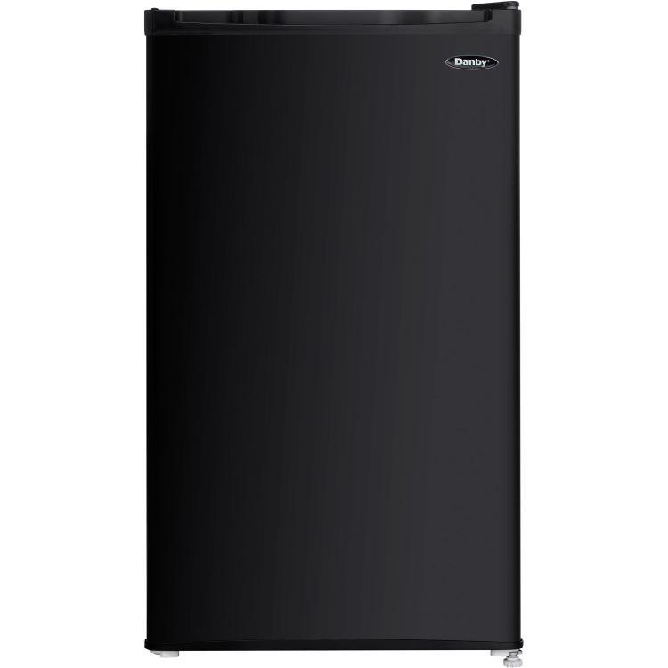 Danby Energy Star 3.2-Cu. Ft. Compact Refrigerator/Freezer in Black