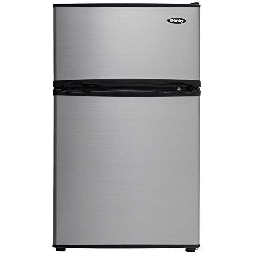 Energy Star 3.2 cu. ft. Dual-Door Compact Refrigerator/Freezer