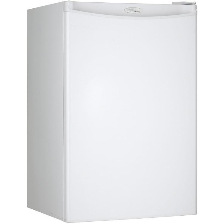 Danby Designer Energy Star 4.4-Cu. Ft. Compact Refrigerator/Freezer in White