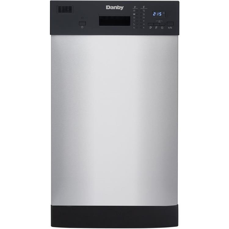 Danby Energy Star 18-In. Built-In Dishwasher in Stainless Steel