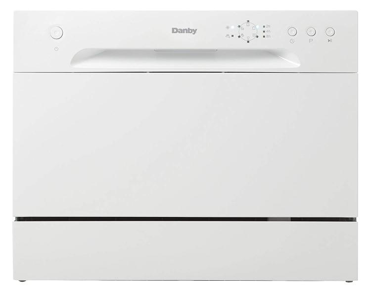 Danby Energy Star Countertop Dishwasher in White