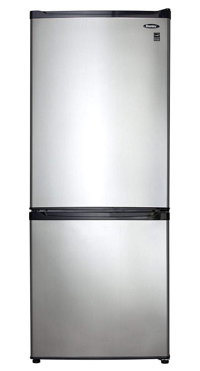 Danby Energy Star 9.2-Cu. Ft. Refrigerator with Bottom-Mount Freezer in White