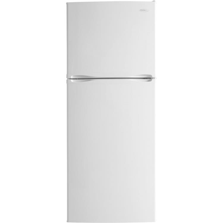 Danby 9.9-Cu. Ft. Mid-Size Frost-Free Refrigerator with Top-Mount Freezer in White