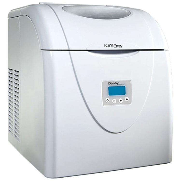Designer Ice n Easy Portable Ice Maker - White