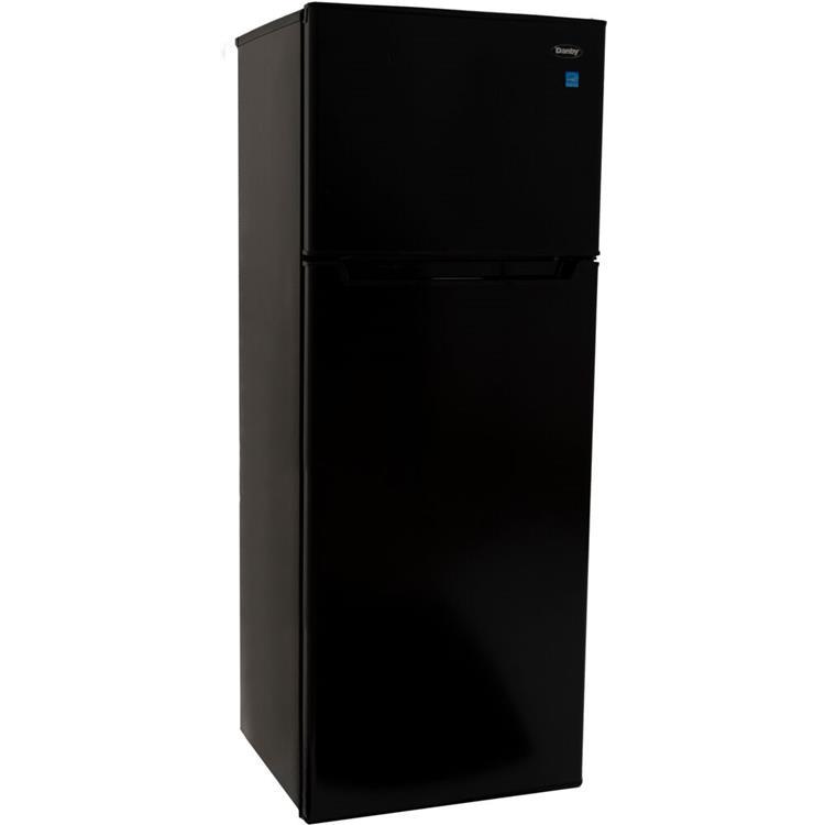 Danby Designer 7.3-Cu. Ft. Apartment-Size Refrigerator with Top-Mount Freezer in Black