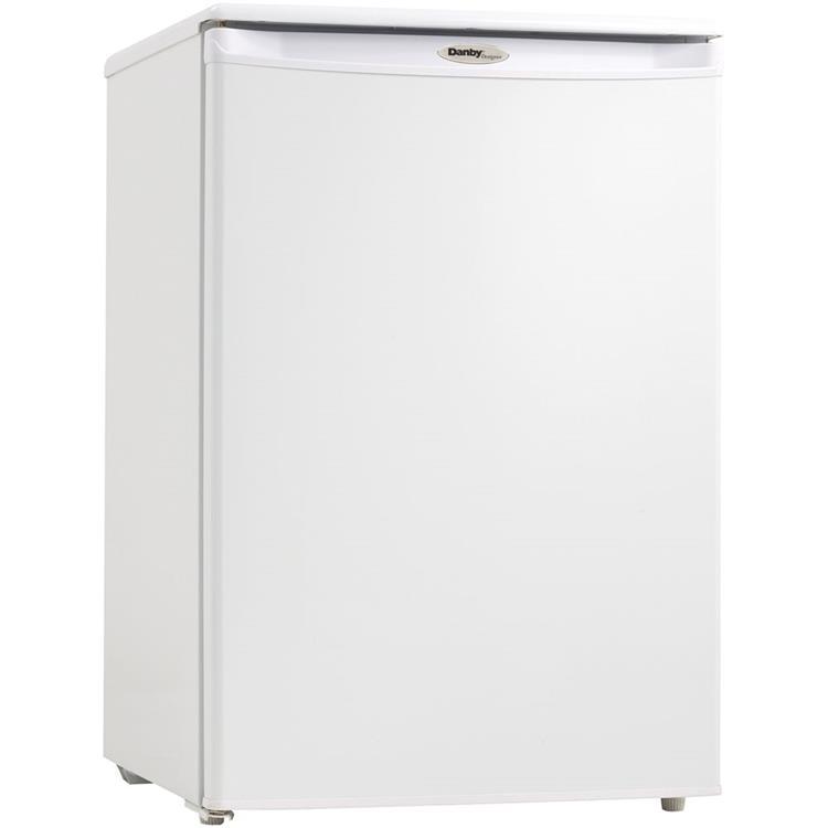 Danby Energy Star Designer 4.3-Cu Ft. Upright Freezer in White