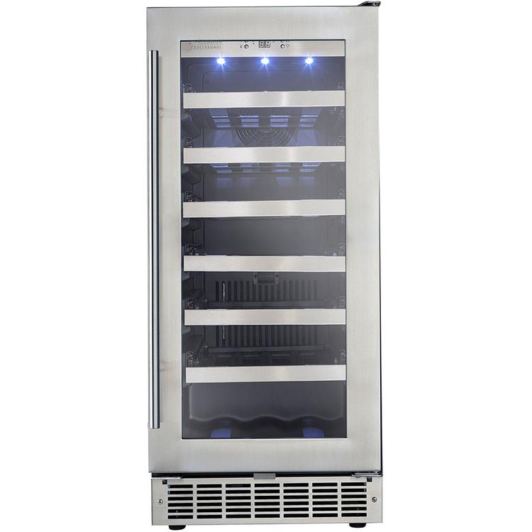 Danby DWC031D1BSSPR Professional 34 Bottle Built-In Wine Cooler