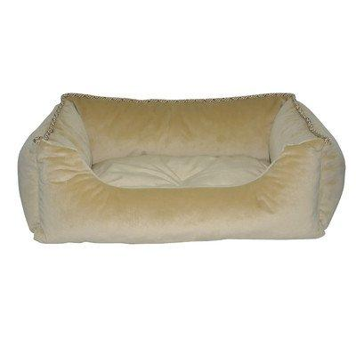 Loom and Mill DB0002 Tan Solid Walled Pet Bed