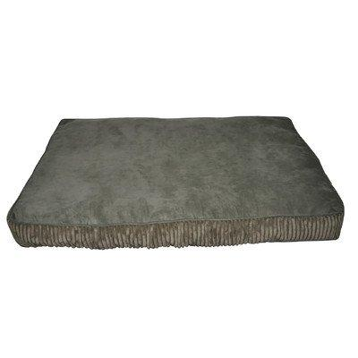 Loom and Mill DB0017 Green Corduroy Rectangle Pet Bed
