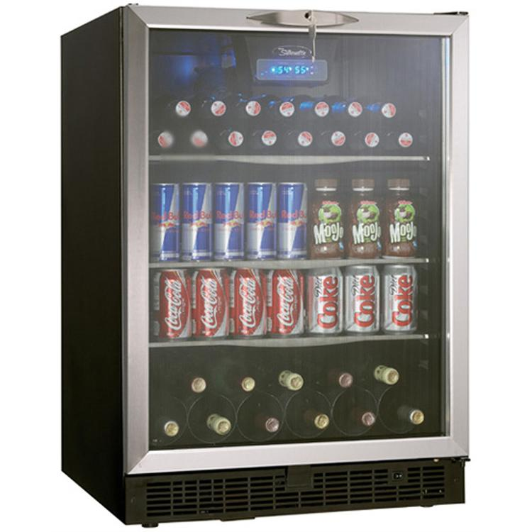 Danby DBC514BLS 5.3 Cu. Ft. Silhouette Beverage Center