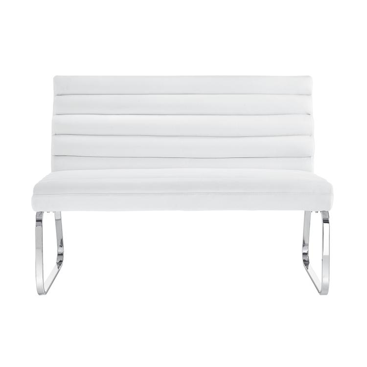 Picket House Furnishings Soho Settee Bench in White [Item # DBX100STT]
