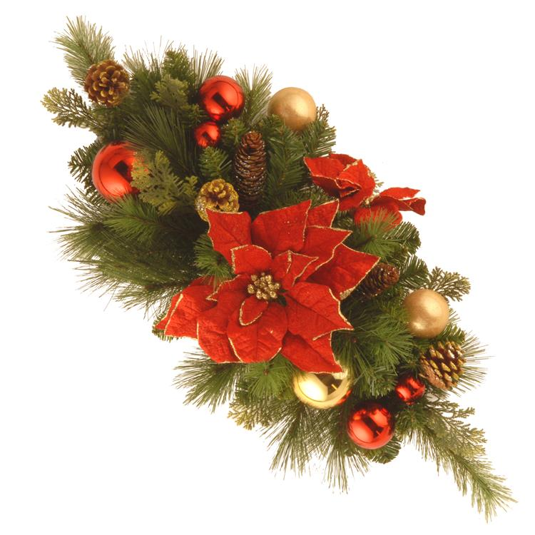 National Tree 30 inch  Decorative Collection Home for the Holidays Centerpiece