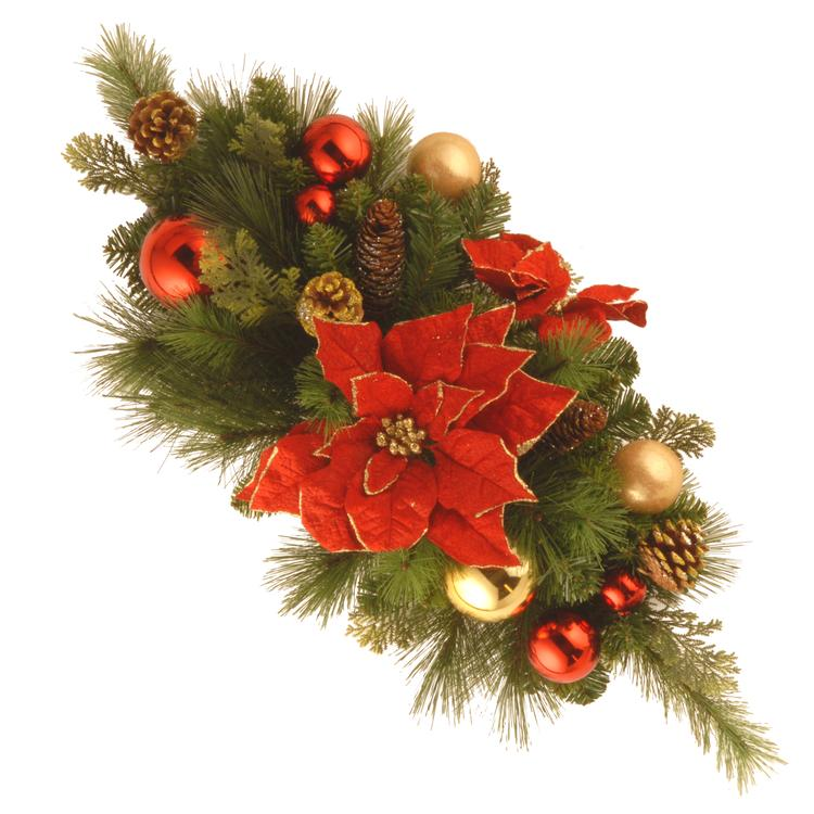 National Tree Decorative Collection Home for the Holidays Centerpiece