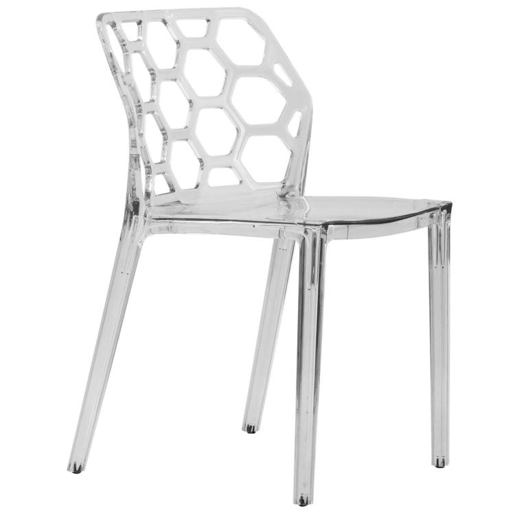 LeisureMod Modern Dynamic Dining Chair
