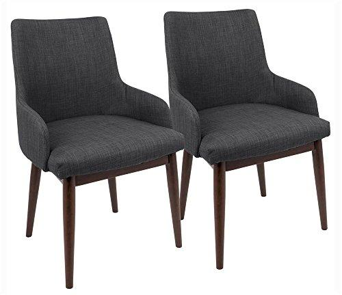 LumiSource  Santiago Dining Chair - Set of 2