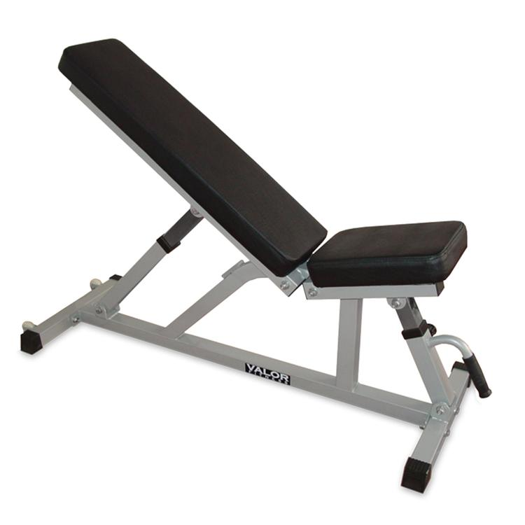 Valor Fitness Incline / Flat Utility Bench With Wheels
