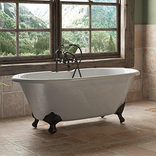Cast Iron Double Ended Clawfoot Tub 60