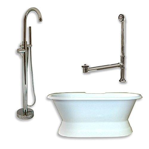 Cast Iron Double Ended Clawfoot Tub 67