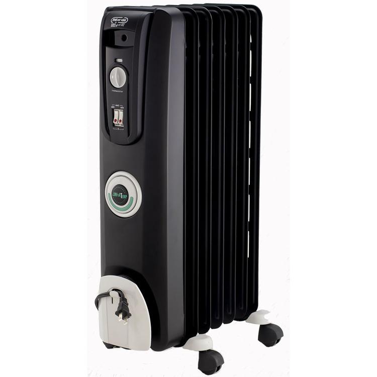 Safeheat 1500-Watt ComforTemp Portable Oil-Filled Radiator - Black