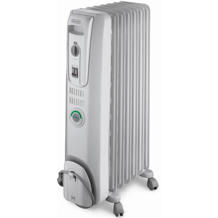 Safeheat 1500-Watt ComforTemp Portable Oil-Filled Radiator - Grey