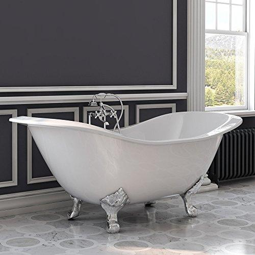 Cast Iron Double Ended Slipper Tub 71