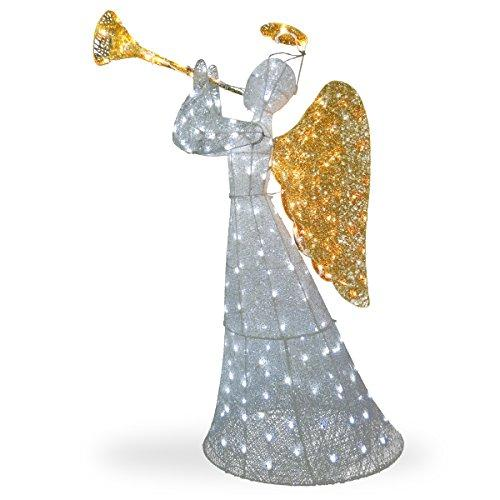 National Tree Angel Decoration with LED Lights