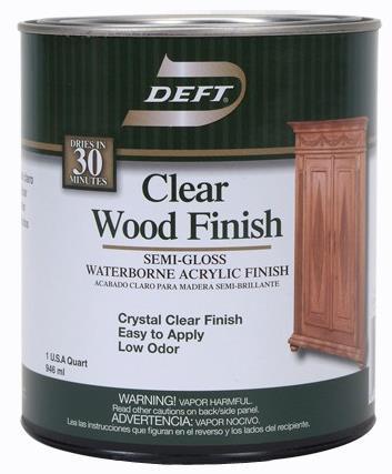 Dft108/04 Wood Fin Clr S/G Qt