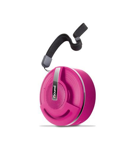 Hang On Bluetooth Speaker - Rubber Pink
