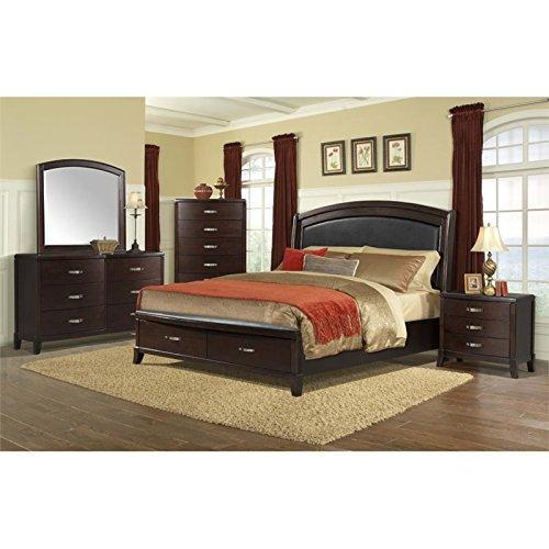 Picket House Furnishings Elaine Platform Storage Bedroom Set [Item # DL600Q6PCNP]