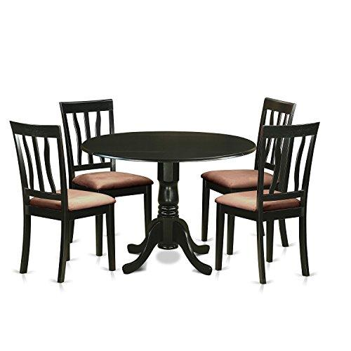 Dining Set - With 4 Wooden Chairs