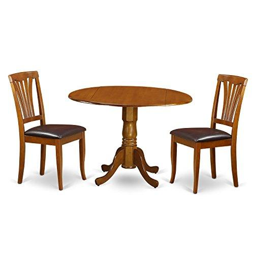 Kitchen Table Set-Dining Table And 2 Kitchen Chairs