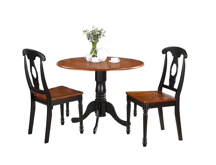East West Furniture 3-Piece Kitchen Table Set