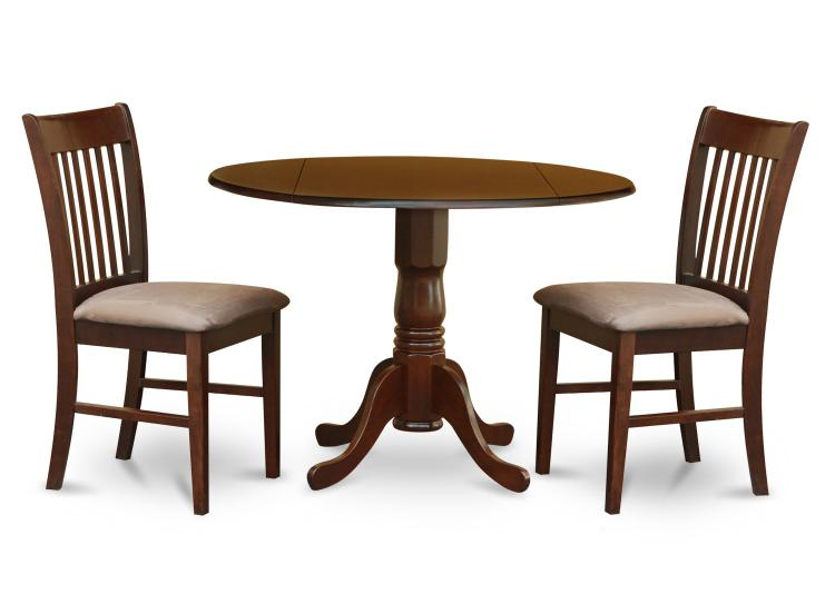 Small Kitchen Table Set-Round Kitchen Table And 2 Chairs