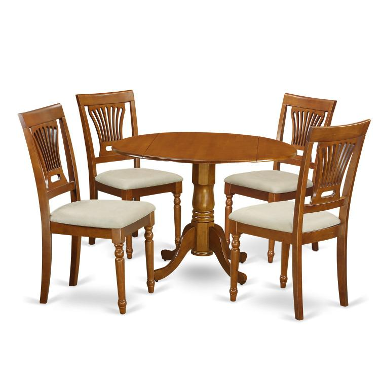 Small Dining Set-Dining Table And 4 Dining Chairs