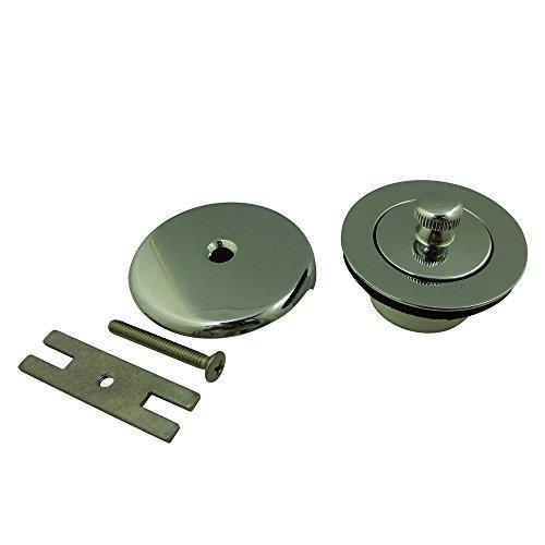 Kingston Brass Made to Match DLT5301A1 Lift and Turn Tub Drain Kit, Polished Chrome