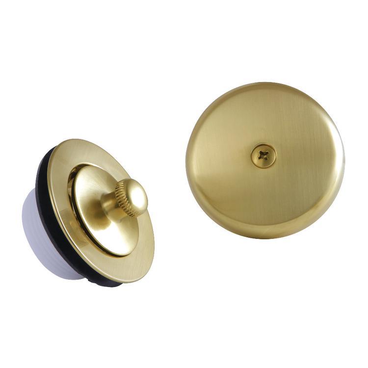 Kingston Brass DLT5301A7 Lift & Turn Tub Drain Kit, Satin Brass