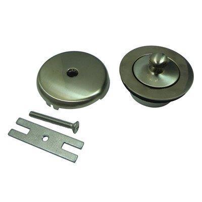 Kingston Brass Made to Match DLT5301A8  Lift and Turn Tub Drain Kit, Satin Nickel