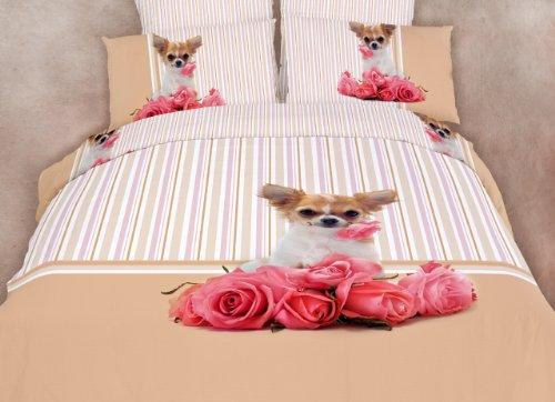 Twin Size Duvet Cover Sheets Set, Cutie Pie