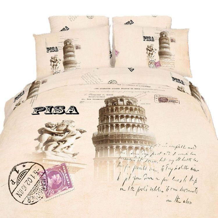 Duvet Cover Sheets Set, Pisa