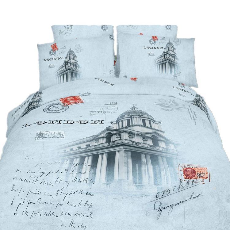 Duvet Cover Sheets Set, London