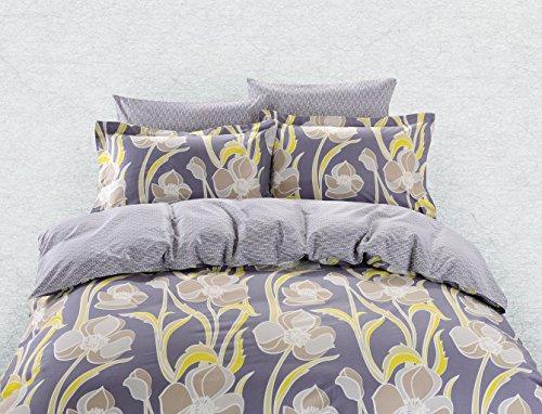 Duvet Cover Sheets Set, Dolce Mela Nafplio Queen Size Bedding