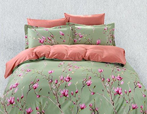Duvet Cover Sheets Set, Dolce Mela Kiev Queen Size Bedding