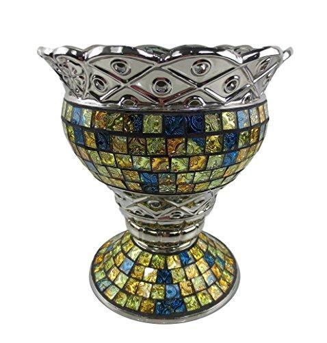 Tall Decorative Ceramic & Glass Vase, 10