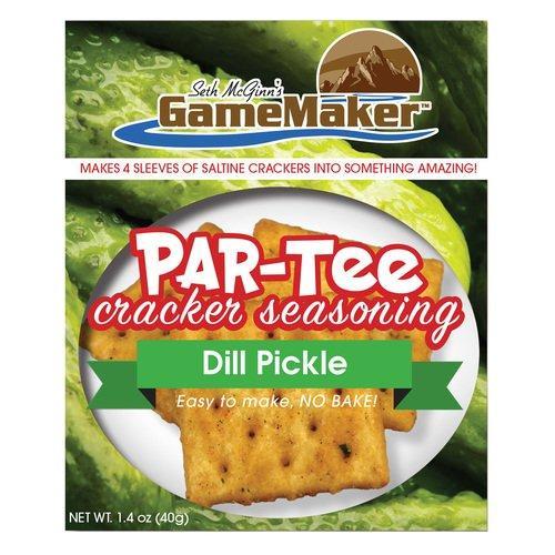Game Maker PAR-TEE Cracker Seasoning - Dill Pickle