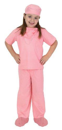 Jr. Dr. Scrubs, size 6/8, Pink
