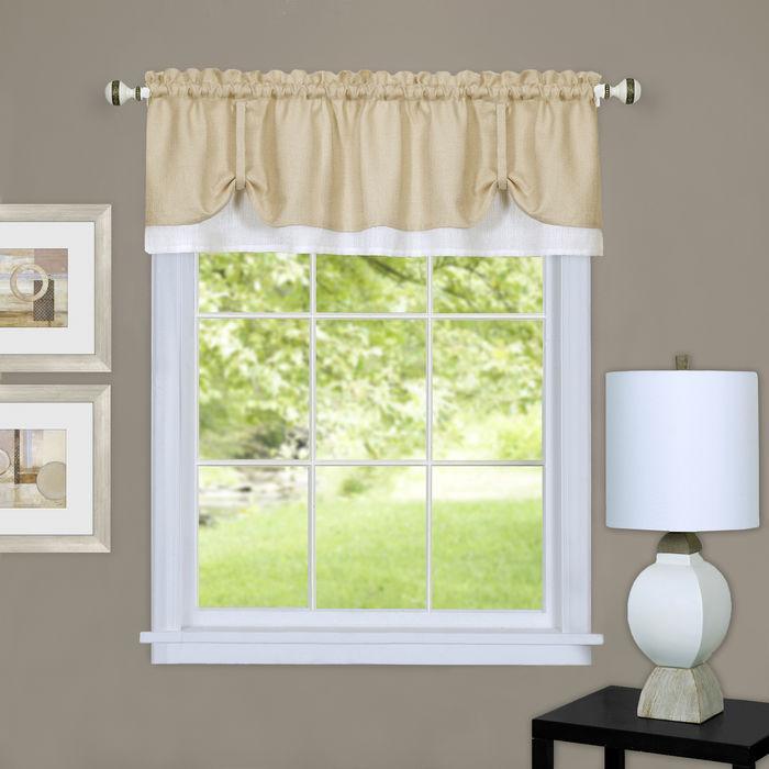 Darcy Window Curtain Valance [Item # DRVL14TW12]