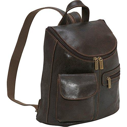 Woman'S Backpack/Purse [Item # DS-9109-Choc]
