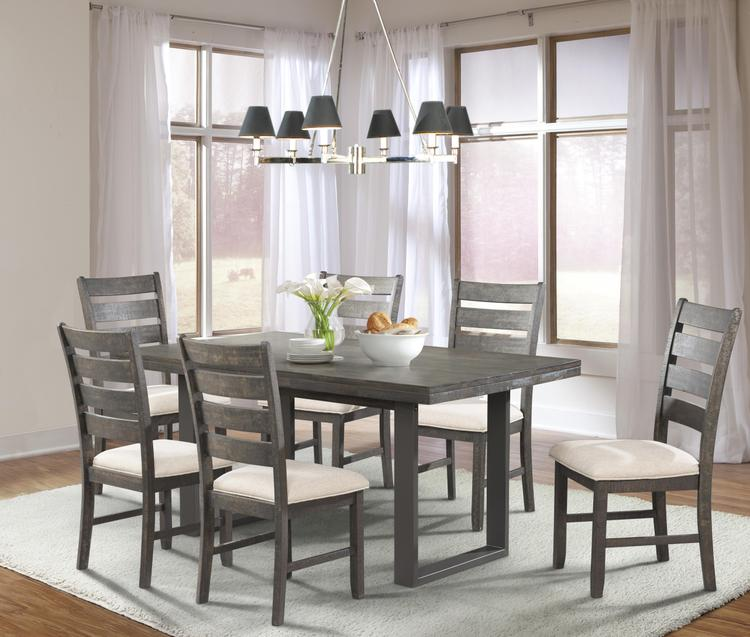 Picket House Furnishings Sullivan Dining Set- Table & 6 Side Chairs