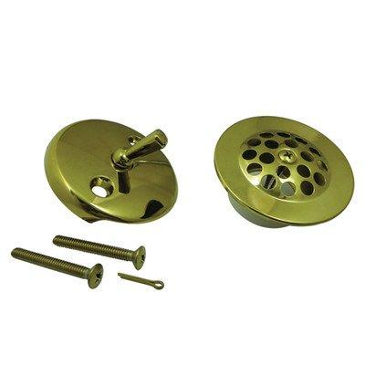 Kingston Brass Made to Match DTL5305A2 Grid Tub Drain Kit, Polished Brass Made to Match