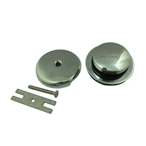 Kingston Brass Made to Match DTL5302A1 Toe Tap Drain Kit, Polished Chrome